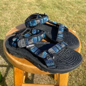 TEVA Terradactyl Water Sandals Velcro Closure 6